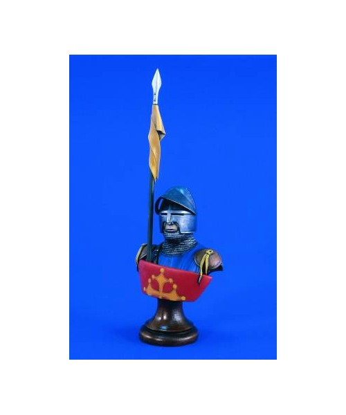 Dibi model busto cavaliere medievale - Cavaliere modello a colori ...
