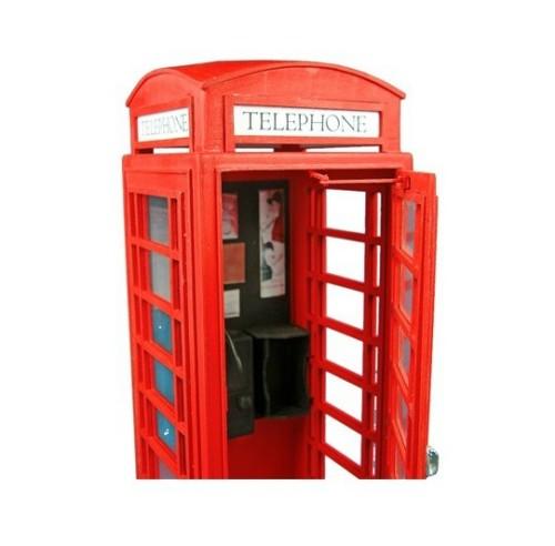 Dibi model kit cabina del telefono inglese for Cabina del mulino del dennis