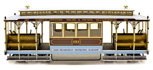 DiBi Model: Tram San Francisco (Cable Car