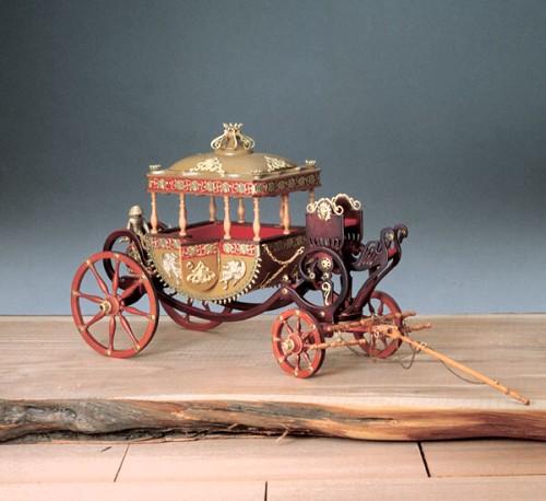 Dibi model carrozza ducale for Fuori piani di costruzione