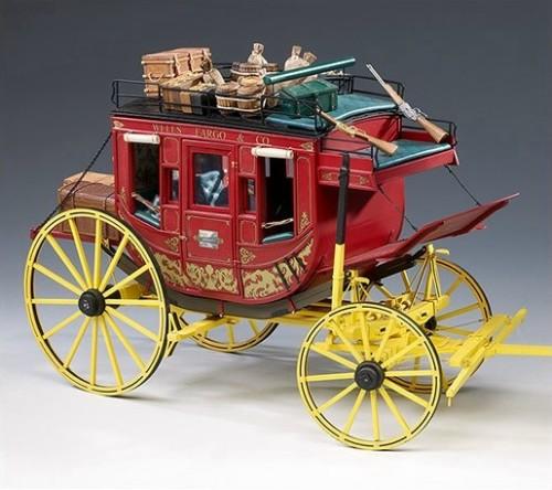 Dibi model diligenza del far west stage coach piano for Piani di costruzione del modello
