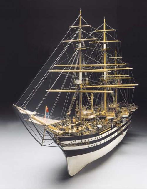 Dibi model amerigo vespucci piano di costruzione for Arredo barche