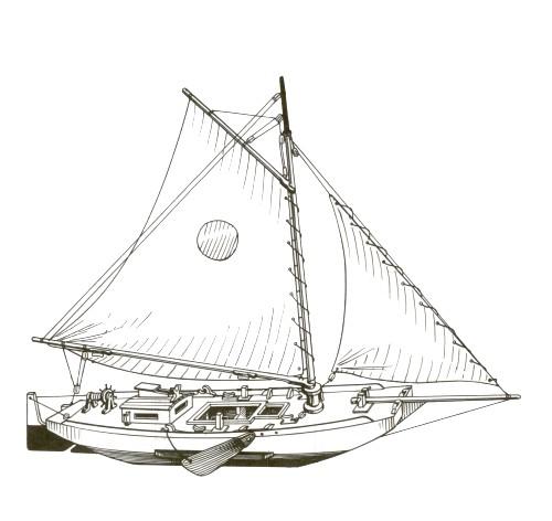 Dibi model sloop piano di costruzione for Piano di costruzione online